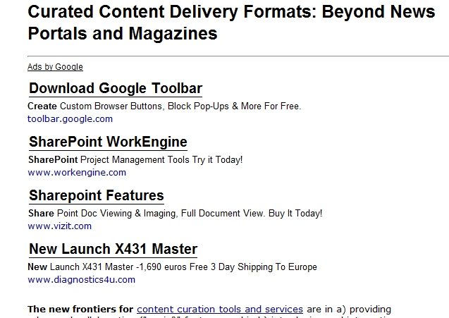 Change Fonts of AdSense Ads